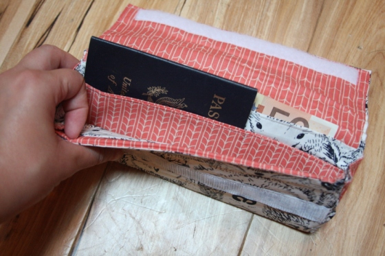 Sew a Travel Wallet