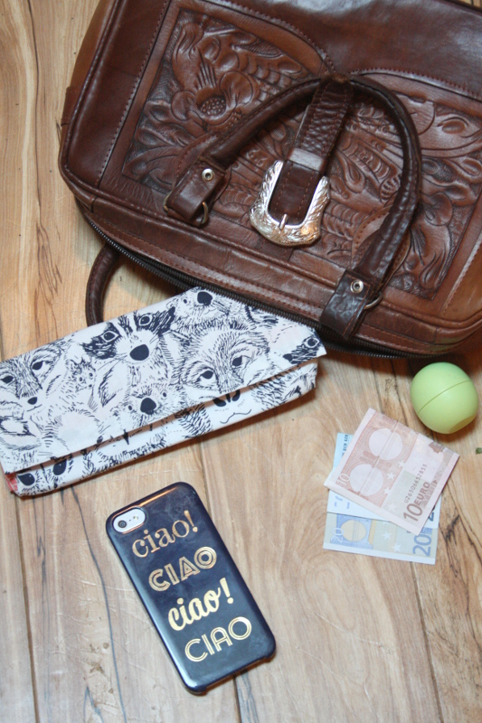 DIY Travel Wallet