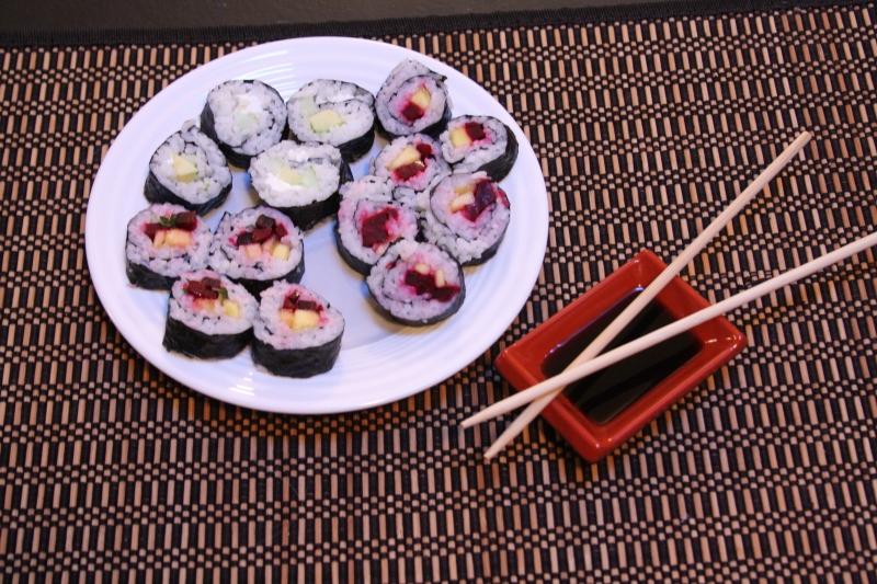 3 Sushi Rolls