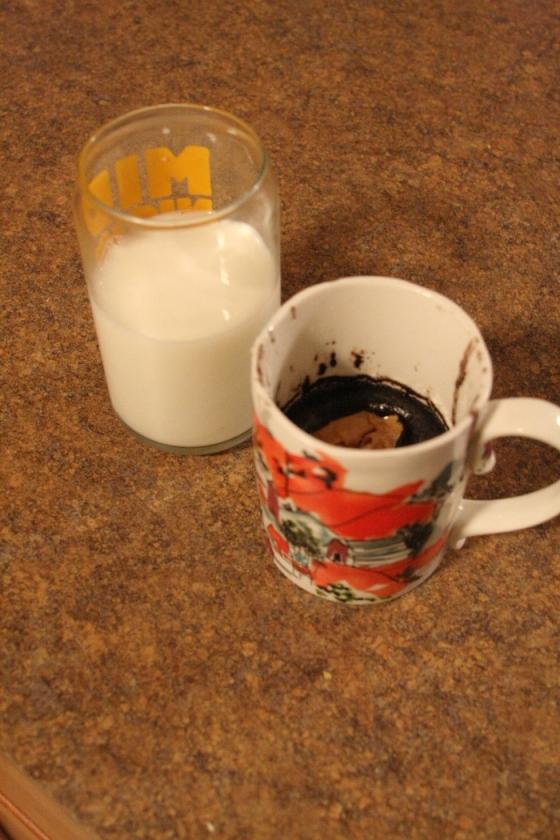 Lava Mug Cake